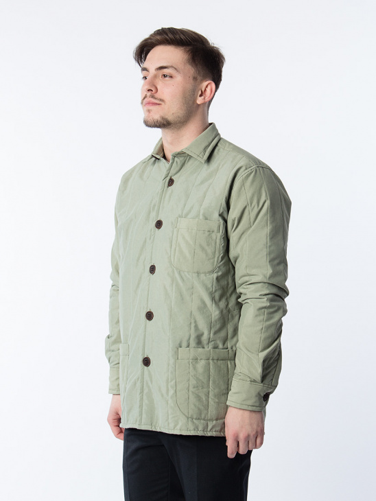 Overshirt Quilted Tech One