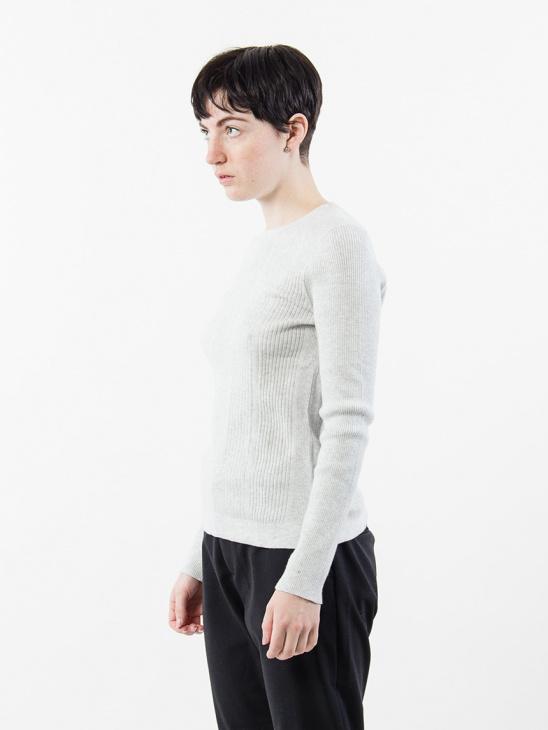 Rib Cotton Pullover