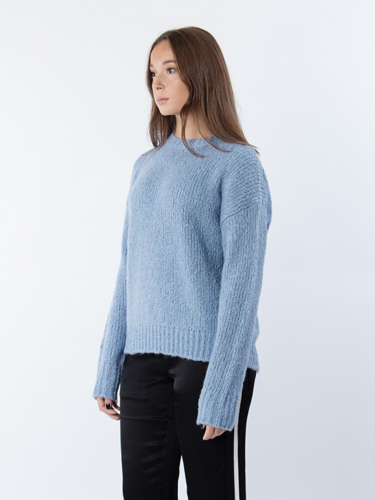Structure R-neck Pullover
