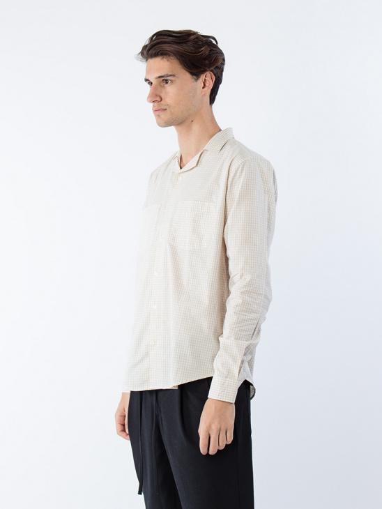 Worker Shirt Pale Yellow