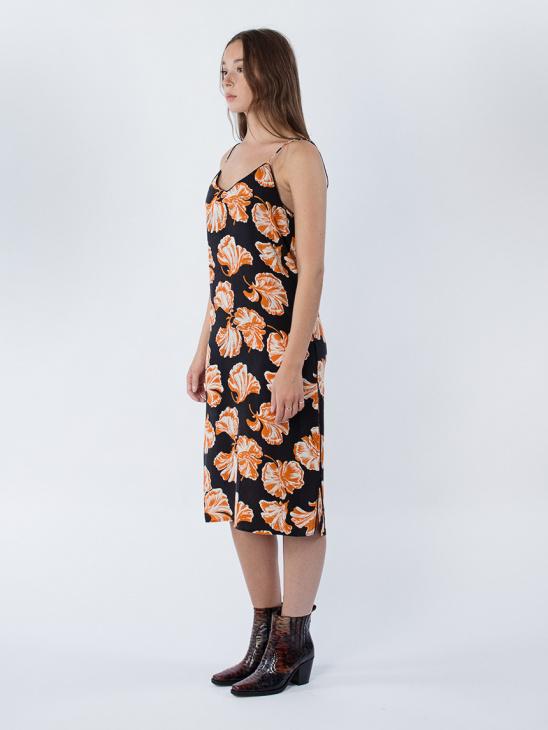 Geroux Silk Strap Dress