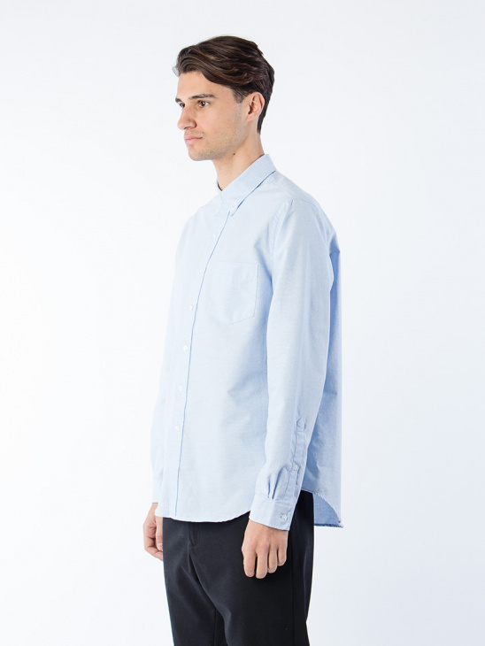 Button Shirt Lt Blue