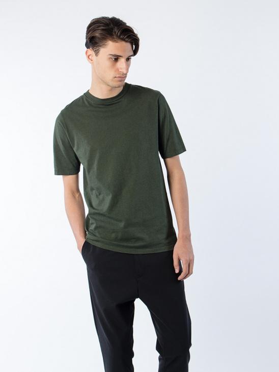 Link Tee Khaki Green